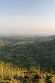 Sunrise over Karamojaland